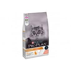 Pro Plan Elegant,сухой корм для взрослых кошек для поддержания красоты шерсти и здоровья кожи,с лососем,уп.1,5 кг.