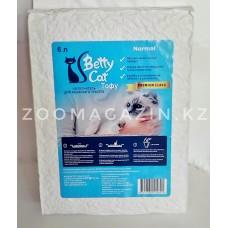 Betty Cat, Tofu,комкующийся,соевый наполнитель,без запаха 6л.