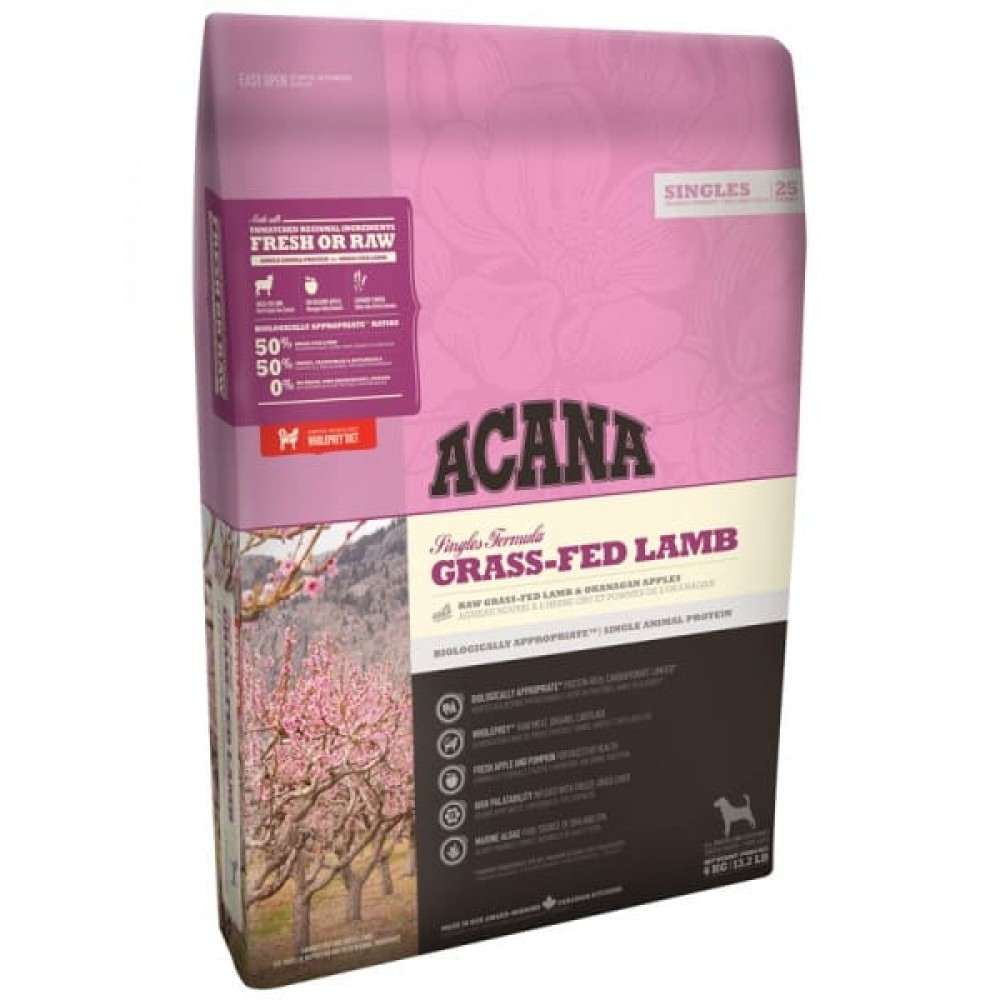 Acana Singles Grass-Fed Lamb 2 кг Акана ягненок