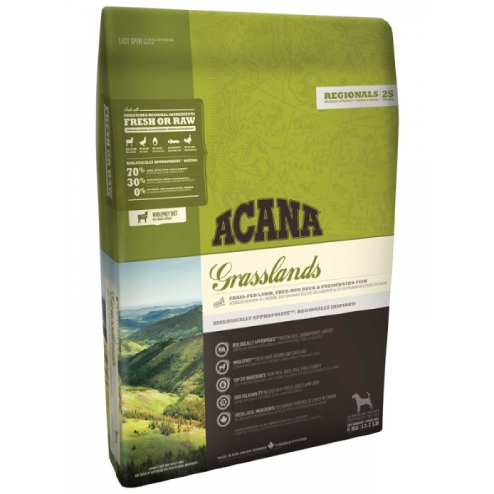 Acana Regionals Grasslands Dog 11,4 кг Акана грасслендс дог