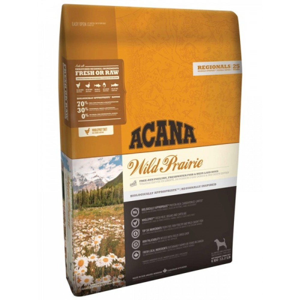 Acana Regionals Wild Prairie Dog 11,4 кг Акана вайлд прерия дог