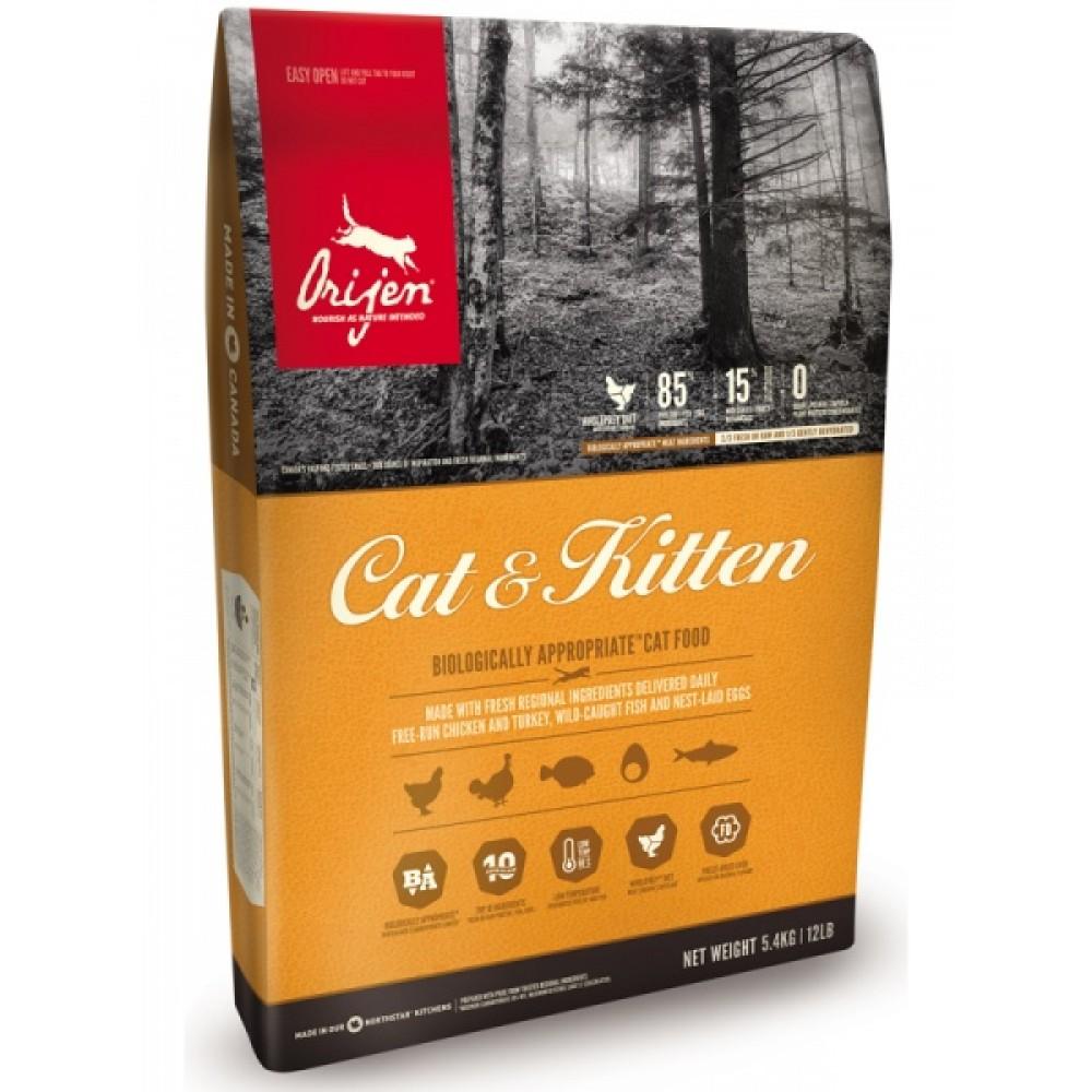 Orijen Cat & Kitten 1,8 кг Ориджен кэт энд китен