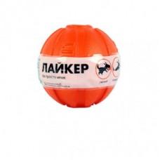 Doglike Collar Liker,мяч диаметр 7 см,вес 35 гр,оранжевый