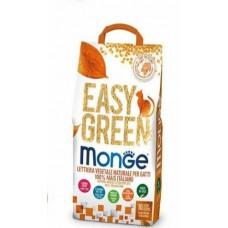 MONGE EASY GREEN наполнитель для кошек, рептилий, грызунов кукурузный 10л