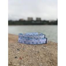 """Ошейник мартингейл с дизайном 25мм """"Ocean"""" (L)"""
