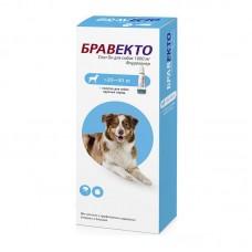Bravecto,жевательная таблетка для собак весом 20-40кг.,1000 мг.