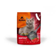 Murkel,силикагелевый наполнитель для кошек с ароматом клубники,уп.2,2л(1 кг.)