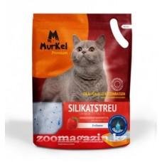 Murkel,силикагелевый наполнитель для кошек с ароматом клубники,уп.22л(10 кг.)