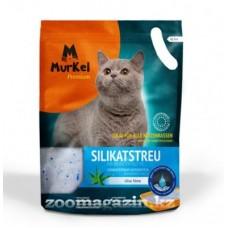 Murkel,силикагелевый наполнитель для кошек с ароматом алоэ вера, уп. 22л (10кг)