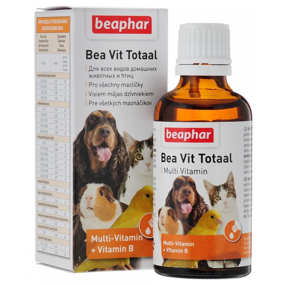 Beaphar Bea Vit Total,кормовая мультивитаминная добавка для животных,50 мл.