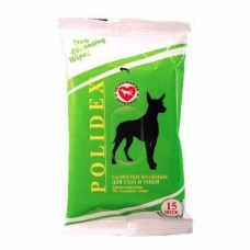 Polidex,салфетки влажные для глаз и ушей,уп.15 шт.