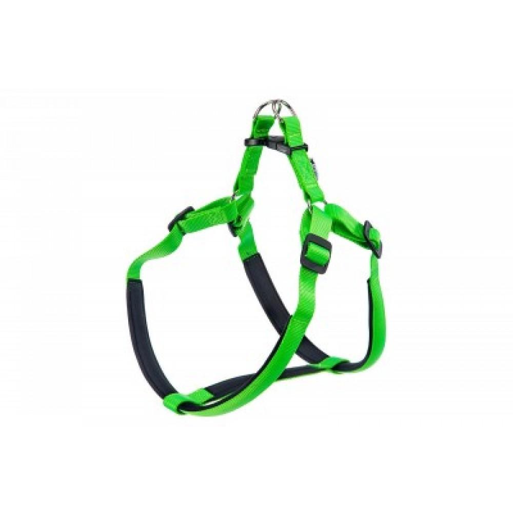 Ferplast Daytona Medium,шлейка для собак средняя,нейлоновая,зеленая