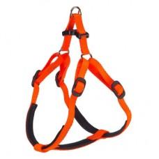 Ferplast Daytona Medium,шлейка для собак средняя,нейлоновая,оранжевая
