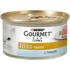 Gourmet Gold,паштет с тунцом, баночка 85гр.