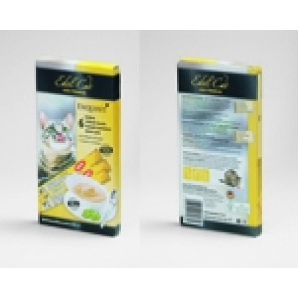 Edel Cat,крем-суп с птицей и печенью,лакомство для кошек,уп.6 шт.
