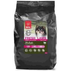 BLITZ ADULT FRESH LAMB SMALL BREEDS низкозкрновой корм для взослых собак мелких пород свежий ягненок 12кг