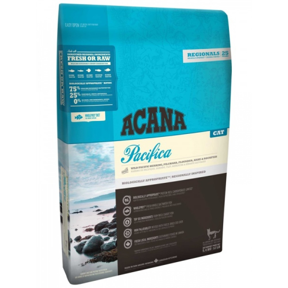 Acana Regionals Pacifica Cat 5,4 кг Акана пасифика кэт