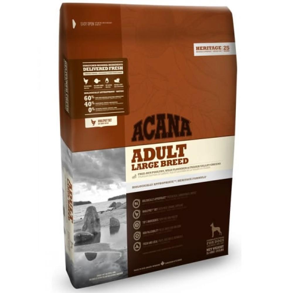 Acana Heritage Adult Large Breed 11,4 кг Акана эдалт ладж брид
