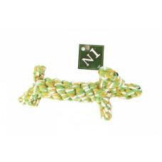 N1 Грейфер в форме собаки, желто-белый, 19 см