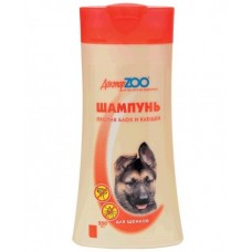 Доктор ZOO,шампунь антипаразитарный для щенков,250 мл.