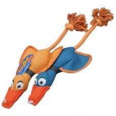 Hartz Nose Divers Dog Toy,утка-перетяжка для собак средних пород