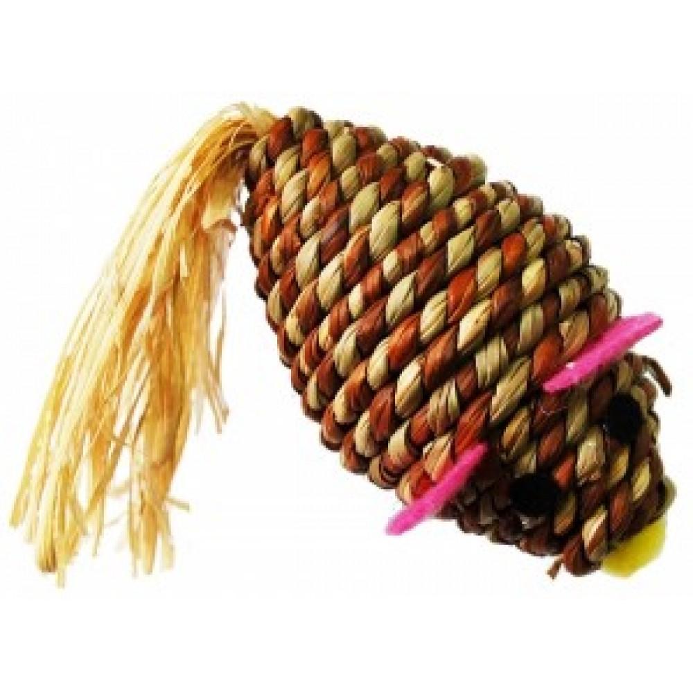 ЕвроПродукт УЮТ,эко мышь из кукурузного стебля,7*4 см.