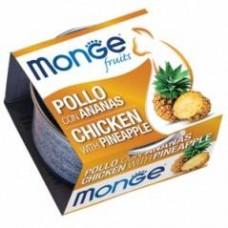 Monge Frut Cat,влажный корм для кошек с курицей и ананасом,уп.80 гр.