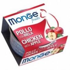 Monge Frut Cat,влажный корм для кошек с курицей и яблоком,уп.80 гр.