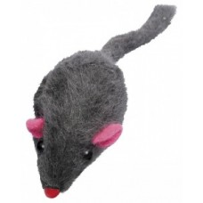 ЕвроПродукт УЮТ мышь-погремушка,натуральный мех с 5см