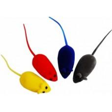 ЕвроПродукт УЮТ мышь-виниловая с пищалкой цветная 6см