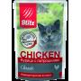 Blitz Classic Влажный корм «Курица с потрошками» 85 гр Блиц